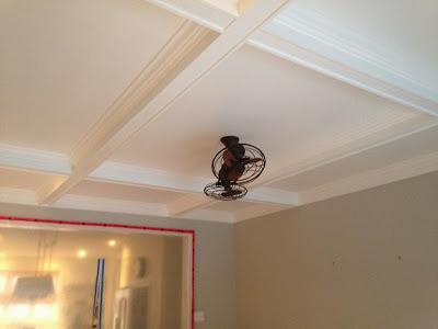 painted coffered ceiling (via chriskauffman)