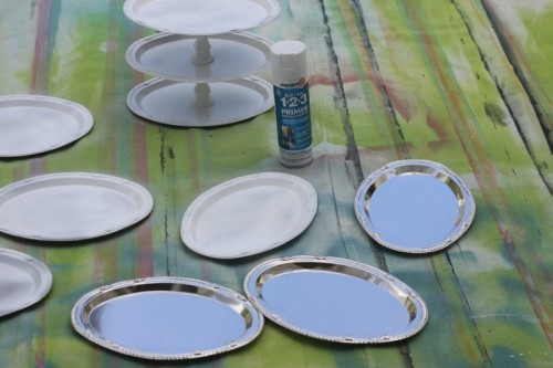 Diy Colorful Cake Stands