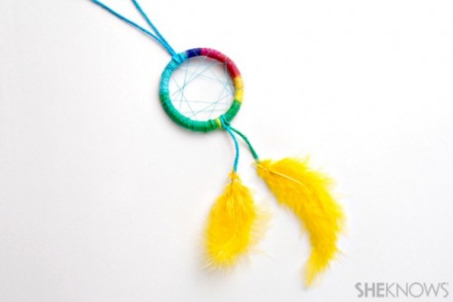 Diy Colorful Dream Catcher