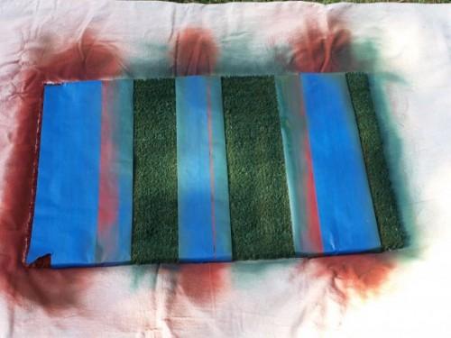 Diy Colorful Entry Mat Of Natural Fiber