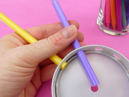 Diy Colorful Wall Clock For A Kids Room