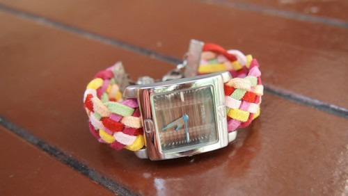 DIY Colorful Watch Band
