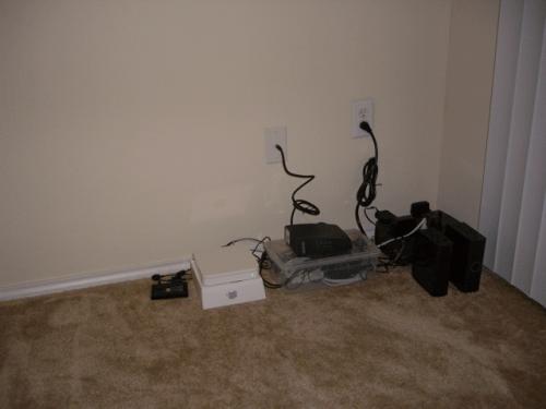 Diy Computer Cable Organizer