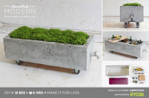ep16 concrete planter (via homemade-modern)