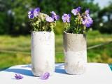 Diy Concrete Vases Of Classical Shape