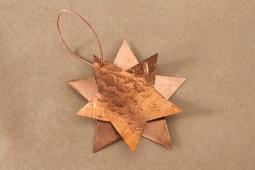 Diy Copper Stars For Christmas Decor