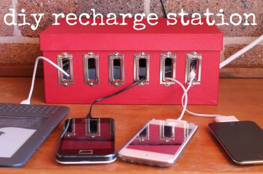 DIY recharge station