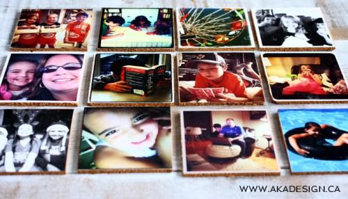 Diy Cork Photo Coasters