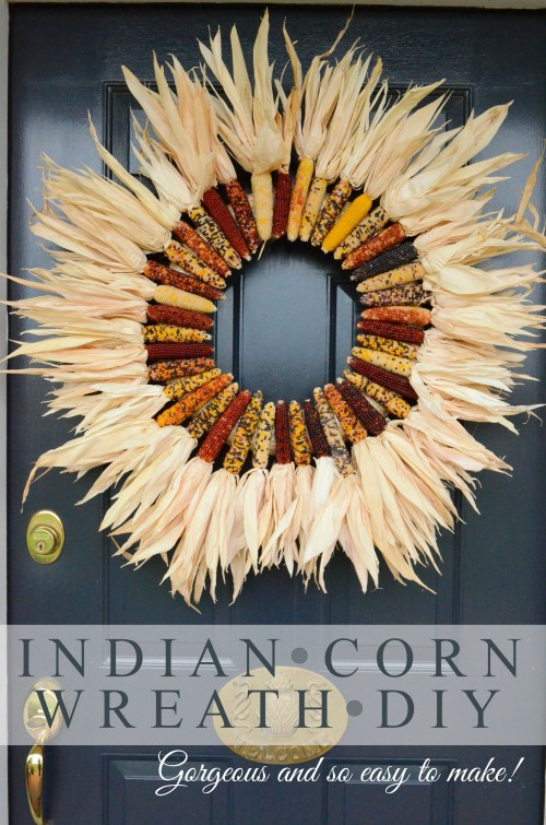 corn and husk wreath (via stonegableblog)