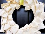 glam corn husk wreath