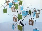 Diy Count Down Calendar Tree