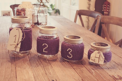 DIY Cozy Jars Advent Calendar