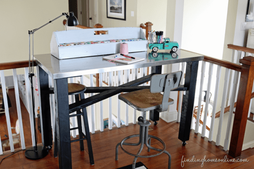 IKEA hack craft table