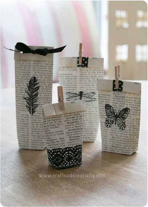 book page gift tags (via craftandcreativity)