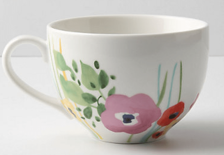 Diy painted mug archives shelterness for How to paint ceramic mugs at home