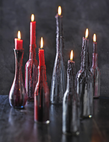 Diy Creepy Candlesticks To Make For Halloween