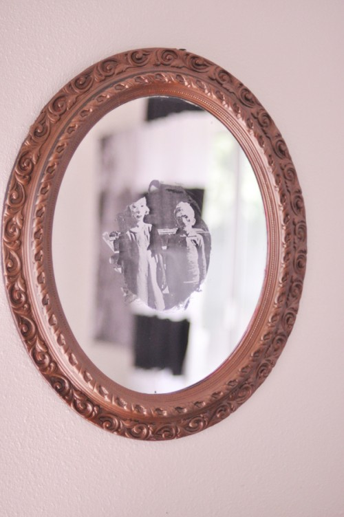 Diy Creepy Halloween Mirror