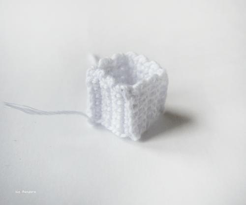 DIY Crochet Gift Box For Christmas