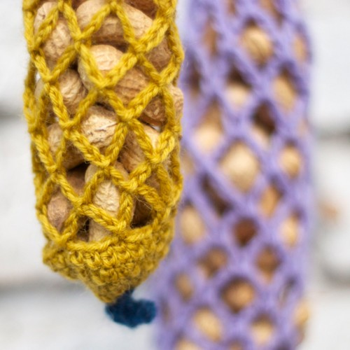 Diy Crocheted Bird Feeder
