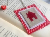 Diy Cross Stitched Bookmark