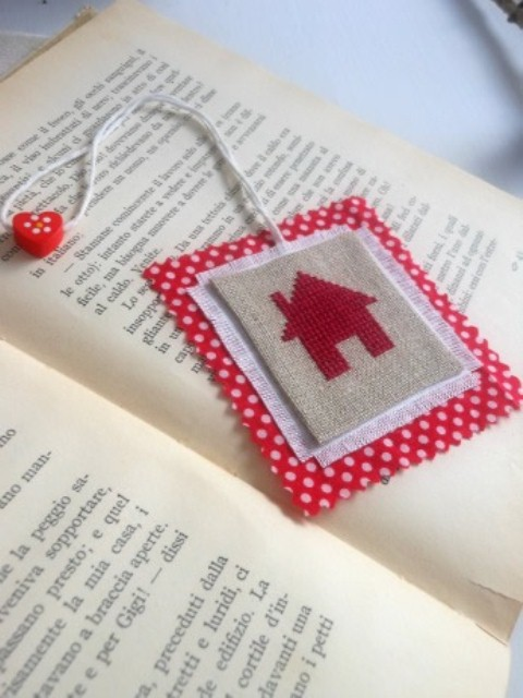 DIY Cross-Stitched Bookmark