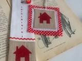 Diy Cross Stitched Bookmark