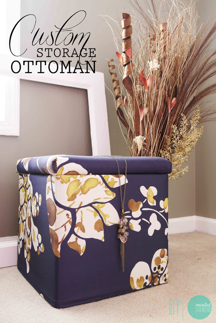 Diy Custom Storage Ottoman