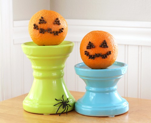Diy Cute Halloween Pomanders