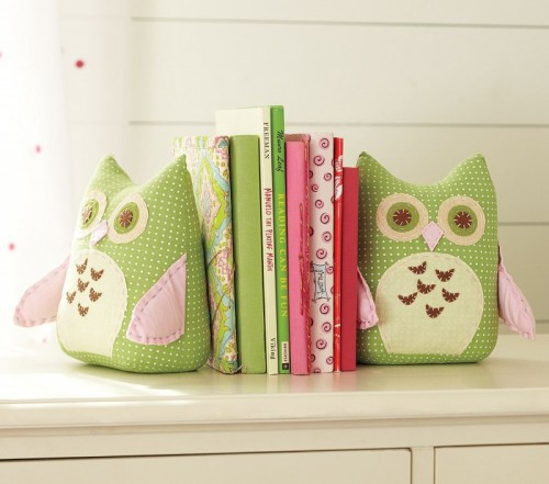 Diy Cute Stuffed Bookends
