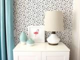 diy-dalmatian-print-fabric-accent-wall-6