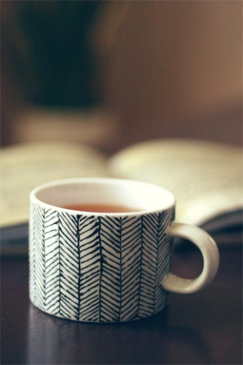 DIY Decorated Porcelain Mug