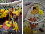 diy-decorative-fall-leaves-and-flowers-mobile-5