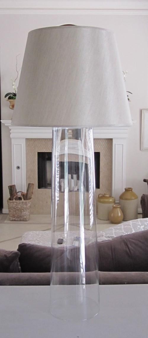 DIY Designer's Glass Lamps
