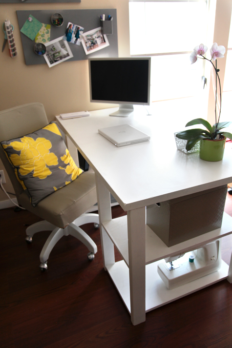 Diy Home Office Desk From An Old Door Shelterness