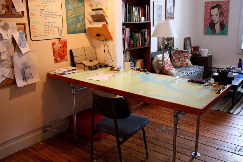 Diy Door Desk Ideas diy door desks & diy tutorial diy dorm room crafts / diy antique