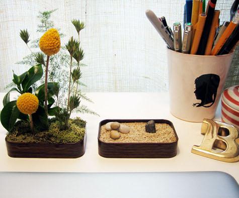 tin zen mini gardens (via designsponge)