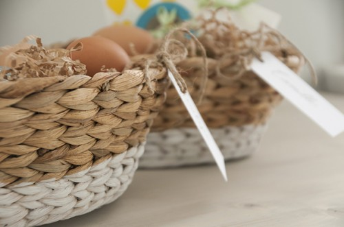 dipped baskets (via houseofearnest)