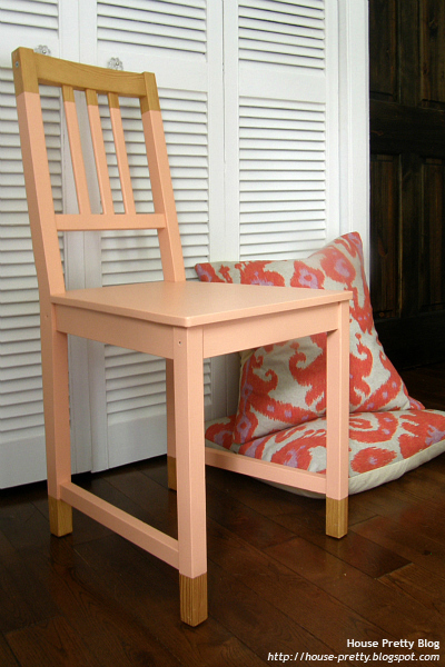 paint dipped chair (via house-pretty)