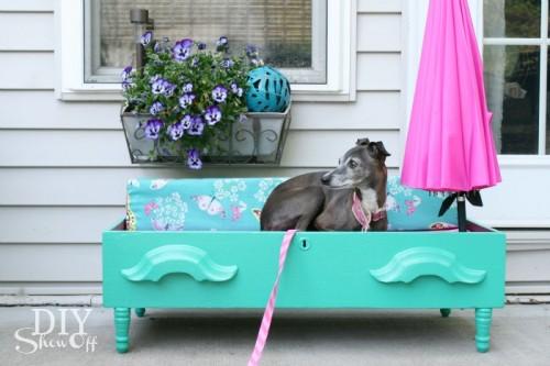 Diy Dog Bed For Outside