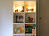 Diy Dollhouse Made Of Bookcase