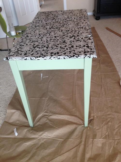 custom vanity table