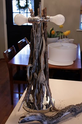 Diy Driftwood Tabletop Lamp