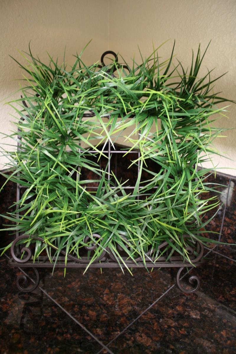 Diy Easter Egg Grass Wreath