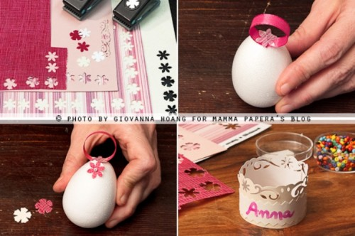 Diy Easter Party Card Holders
