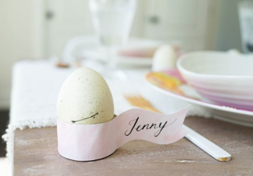 10 Diy Easter Place Cards And Card Holders To Make