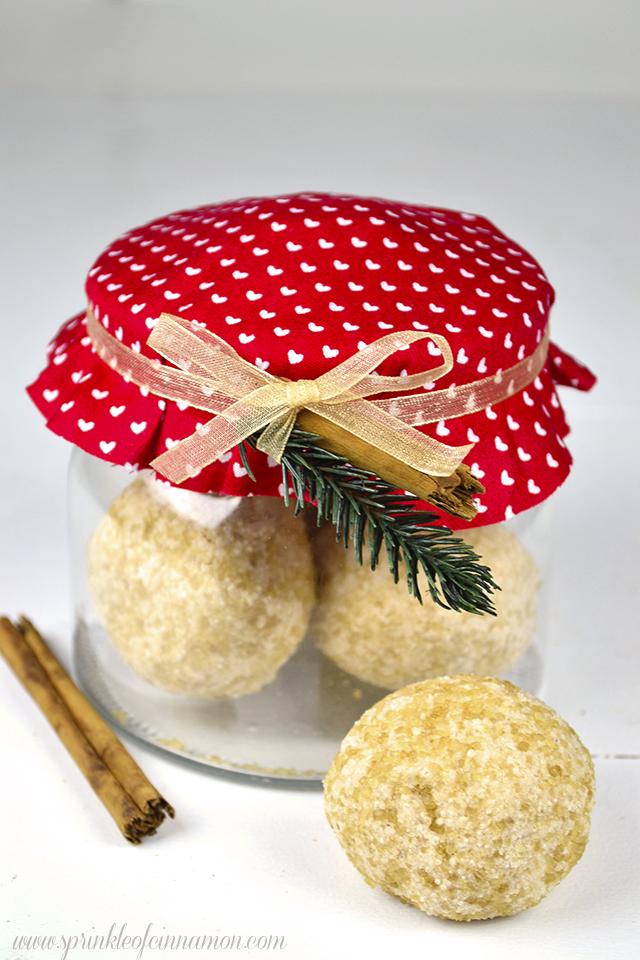 cinnamon bath truffles