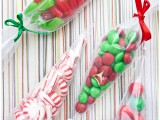 Christmas candy cones