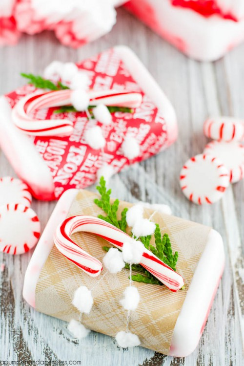 peppermint soap (via apumpkinandaprincess)