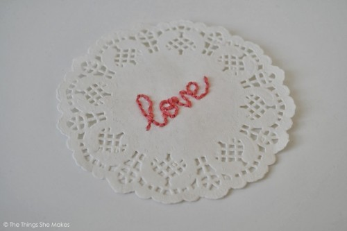 embroidered doilies (via thethingsshemakes)