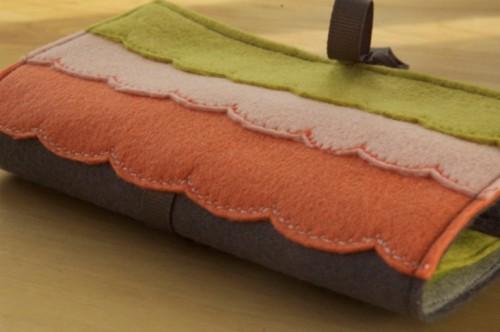 Diy Embroidery Felt Case For Craft